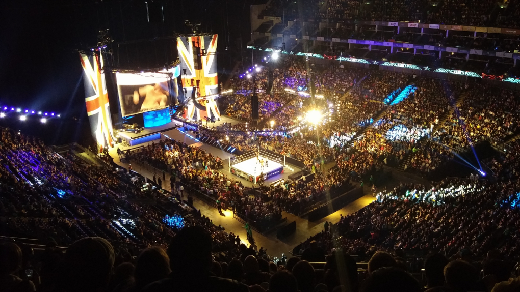 WWE comes to the O2