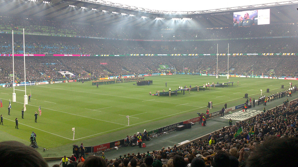 rugby world cup game