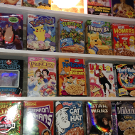 cereal wall