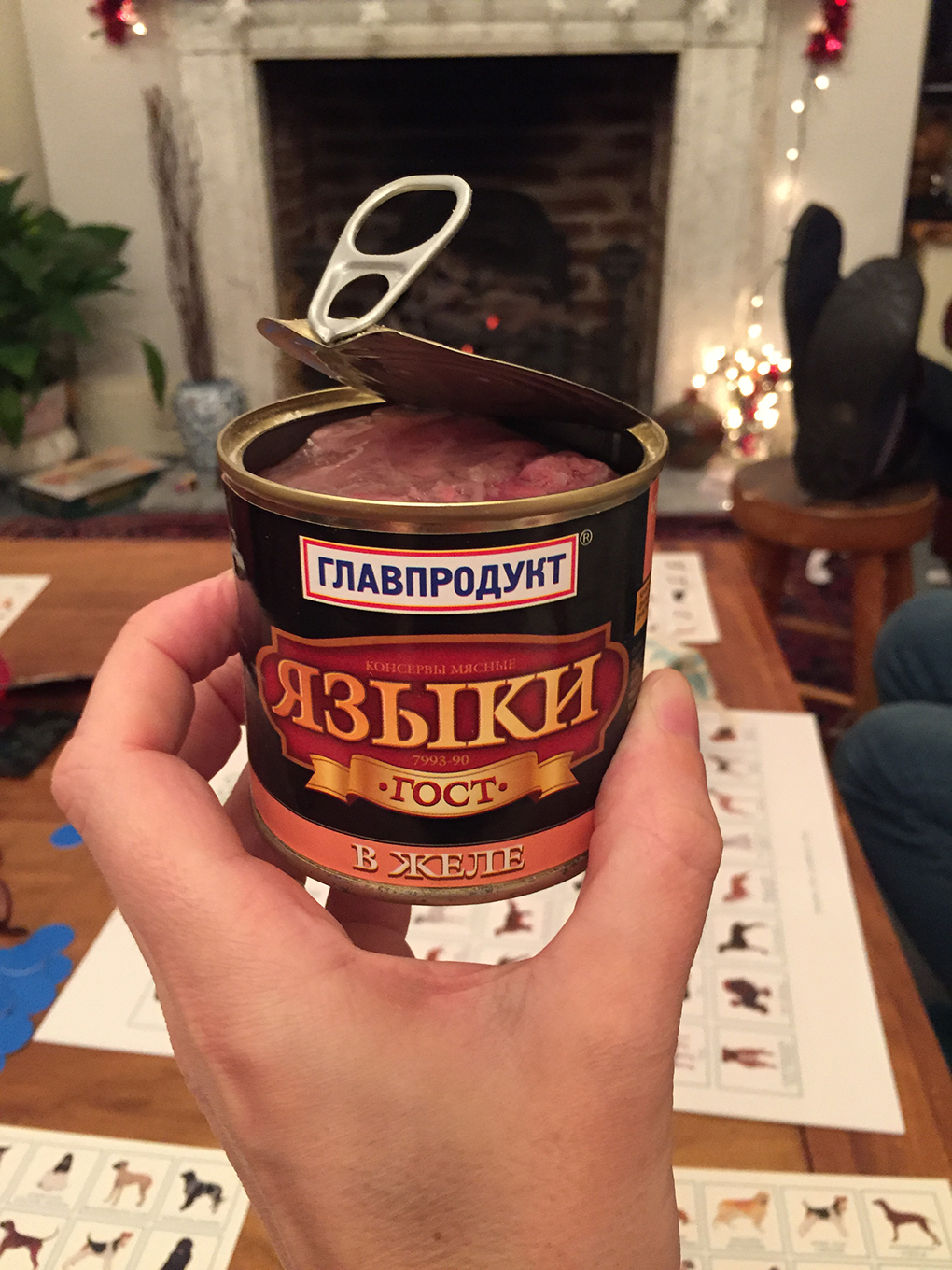 russian canned meat