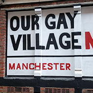 street sign in Manchester