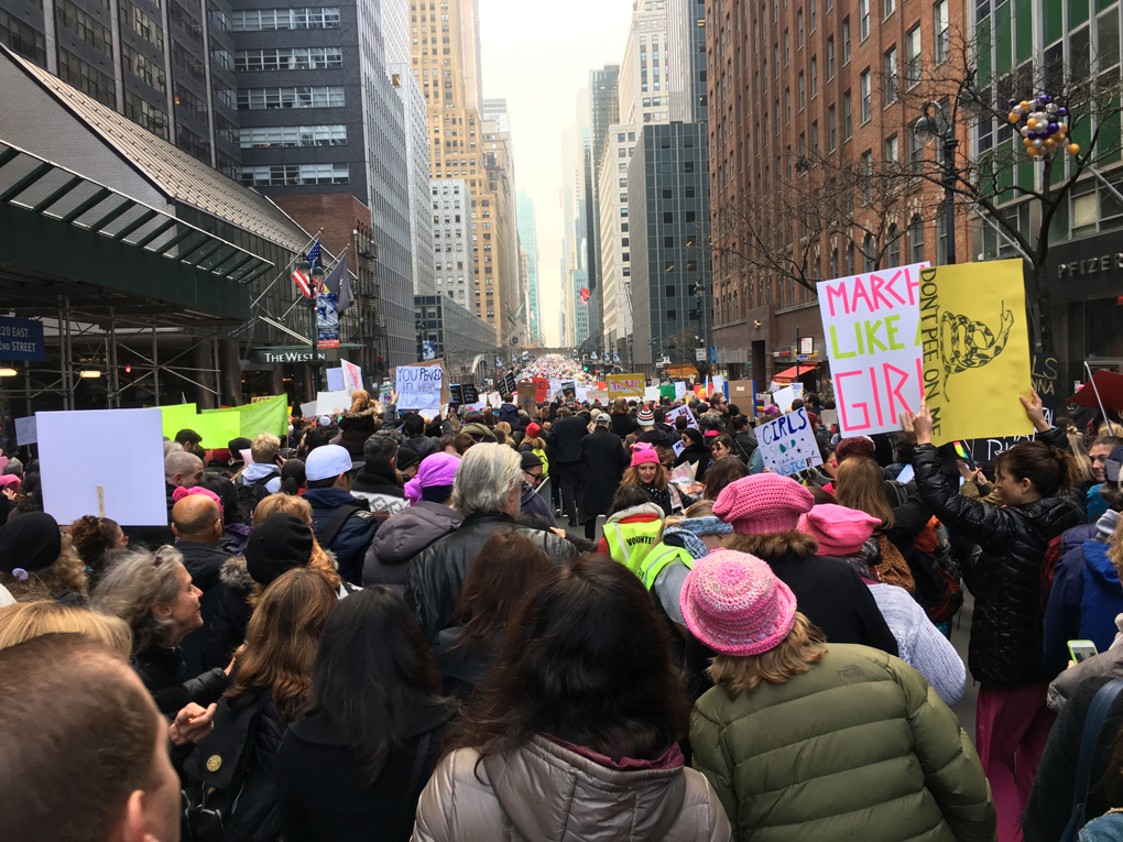 march in new york city