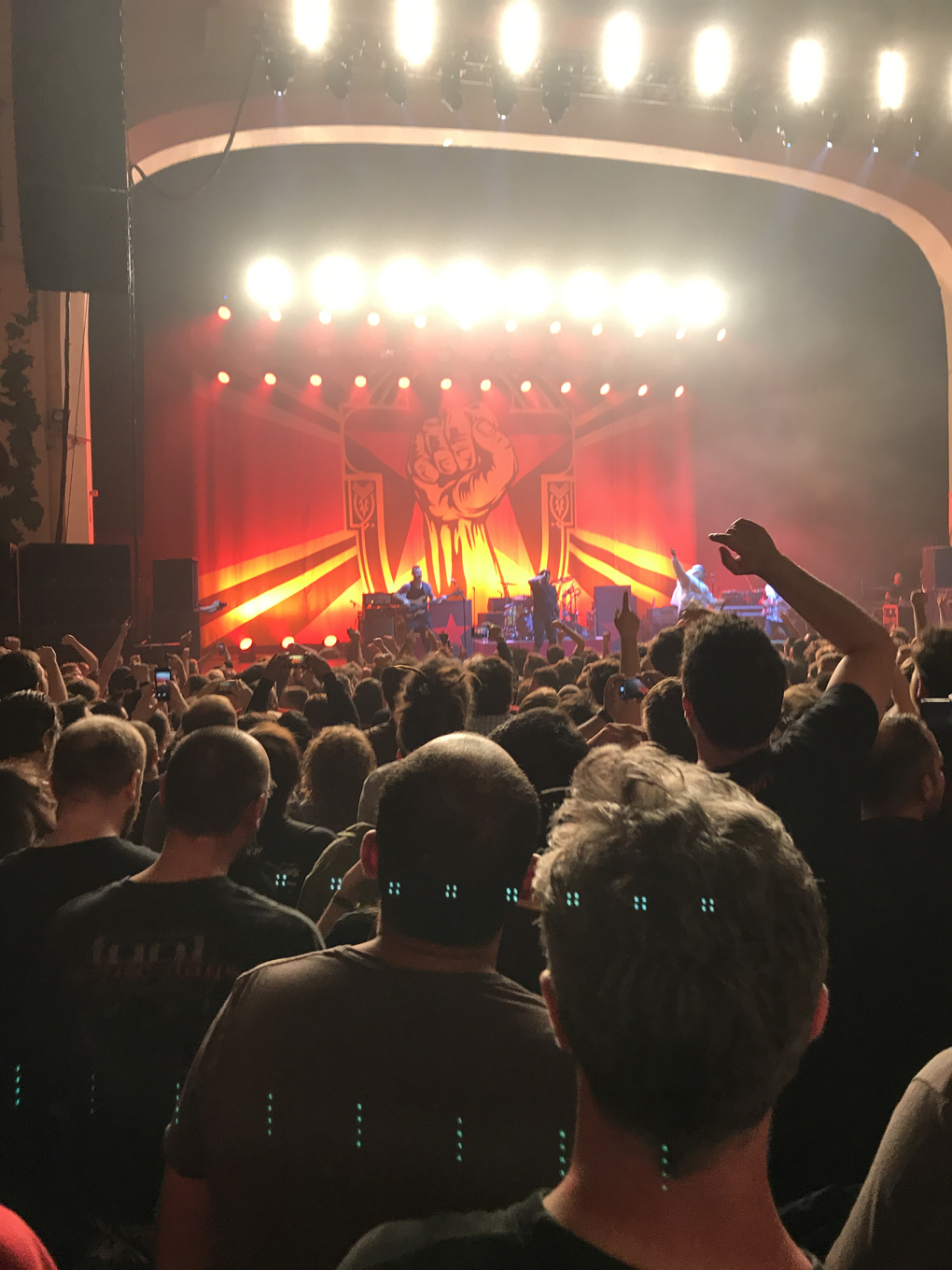 prophets of rage on stage