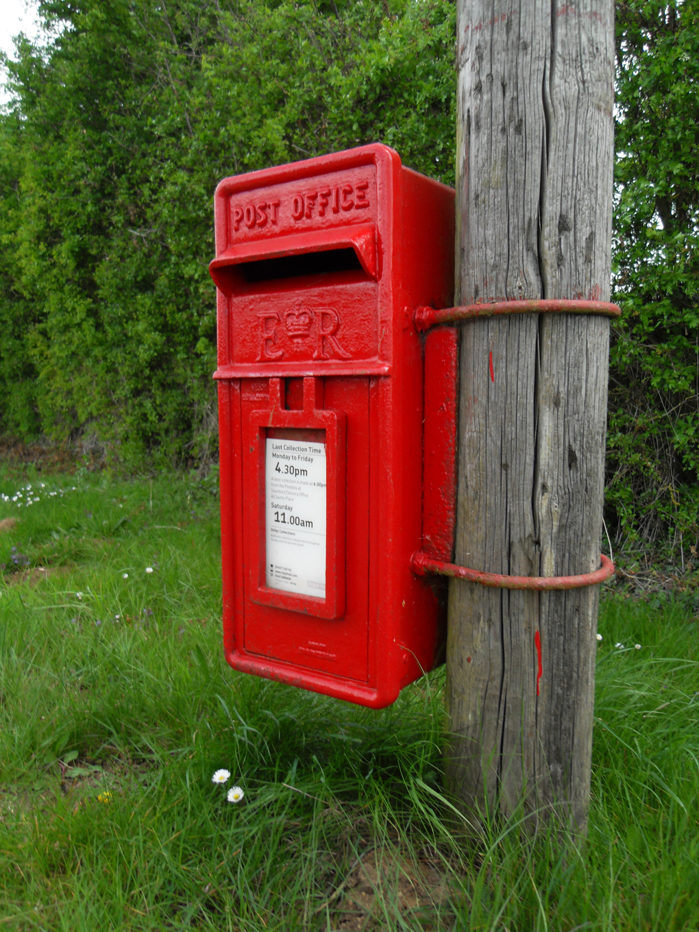 postbox low down