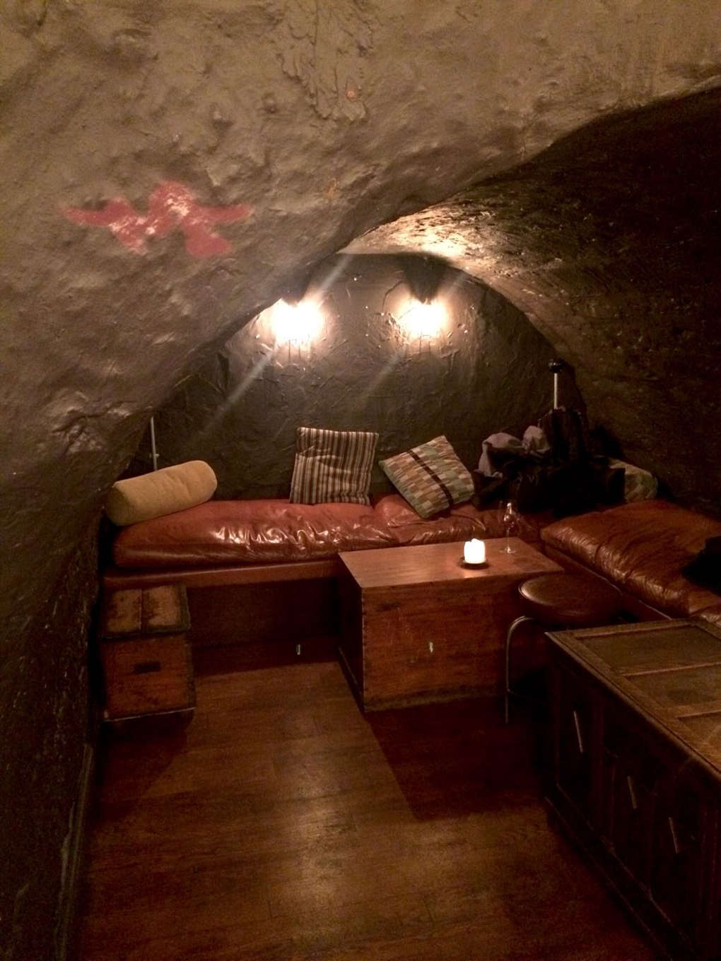 underground room in a pub