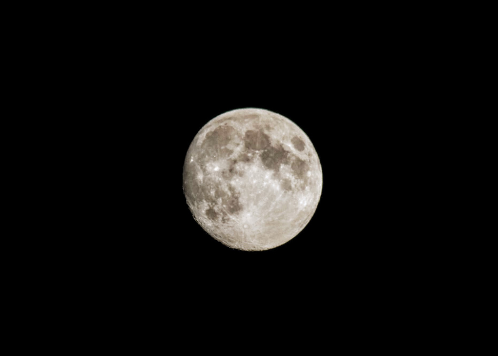 This is a photo of the moon