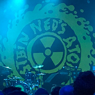 Ned's Atomic Dustbin live on stage