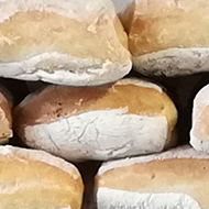A photo of the breads for sale in a new local bakery in Bristol