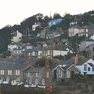 A picture of Mousehole Bay.